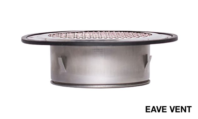Sirius Under Eave Extraction Vent For Kitchen Range Hood Ducting
