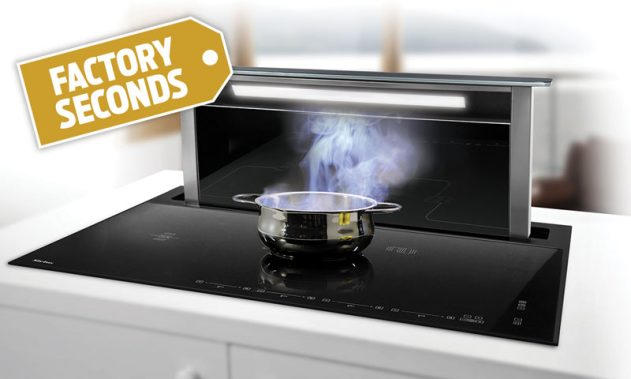 SDDH1.1 - Sirius Induction Cooktop With Integrated Downdraft (Factory Seconds