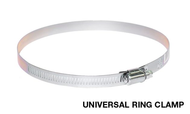 Sirius Universal Ring Clamp To Connect Range Hood Ducting
