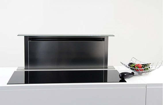 Downdraft Rangehood | Valentina Luxury Hood Collection
