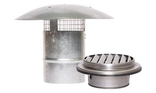 Sirius Kitchen Range Hood Ducting - Vents & Cowls